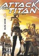 Cover-Bild zu Attack on Titan, Band 4 von Isayama, Hajime