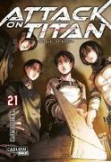 Cover-Bild zu Attack on Titan 21 von Isayama, Hajime