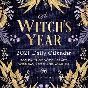Cover-Bild zu A Witch's Year 2021 Daily Calendar von Alexander, Skye