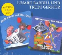 Cover-Bild zu Zaubermuus und Marzipan / Marzimuus und Zauberpan von Bardill, Linard