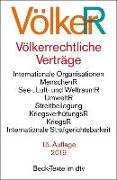Cover-Bild zu Völkerrechtliche Verträge