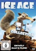 Cover-Bild zu Ice Age 1-5 von Chris Wedge, Carlos Saldanha, Steve Martino, Mike Thurmeier, Galen T. Chu (Reg.)