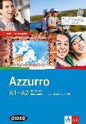 Cover-Bild zu Azzurro A1-A2. Neubearbeitung. Kurs- und Übungsbuch mit Audio-CD von Fratter, Ivana