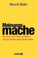 Cover-Bild zu Meinungsmache (eBook) von Müller, Albrecht