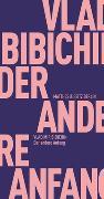 Cover-Bild zu Der andere Anfang von Bibichin, Vladimir
