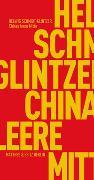 Cover-Bild zu Chinas leere Mitte von Schmidt-Glintzer, Helwig