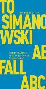 Cover-Bild zu Abfall von Simanowski, Roberto