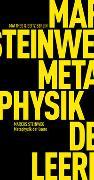 Cover-Bild zu Metaphysik der Leere von Steinweg, Marcus