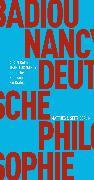 Cover-Bild zu Deutsche Philosophie. Ein Dialog (eBook) von Badiou, Alain