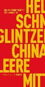 Cover-Bild zu Chinas leere Mitte (eBook) von Schmidt-Glintzer, Helwig