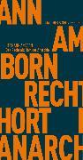 Cover-Bild zu Das Recht als Hort der Anarchie (eBook) von Amborn, Hermann