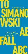 Cover-Bild zu Abfall (eBook) von Simanowski, Roberto