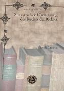 Cover-Bild zu Zur syrischen Übersetzung des Buches der Richter (eBook) von Lazarus, Arnold