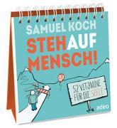 Cover-Bild zu StehaufMensch! - Aufstellbuch von Koch, Samuel