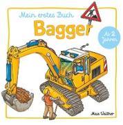 Cover-Bild zu Mein Bagger Buch von Walther, Max (Illustr.)