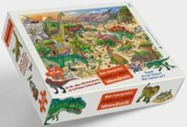 Cover-Bild zu Dinosaurier Puzzle von Walther, Max (Illustr.)