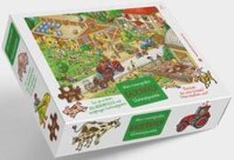 Cover-Bild zu Bauernhof Puzzle von Walther, Max (Illustr.)