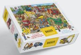 Cover-Bild zu Bagger Puzzle von Walther, Max (Illustr.)