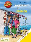 Cover-Bild zu Kommissar Kugelblitz - Kugelblitz in Spanien (eBook) von Scheffler, Ursel