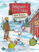 Cover-Bild zu Pettersson und Findus: Mein Kreativ-Adventskalender: Malen - Rätseln - Basteln von Nordqvist, Sven