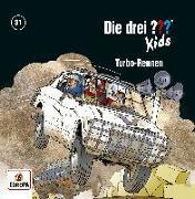 Cover-Bild zu Die drei ??? Kids - 81/Turbo-Rennen