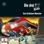 Cover-Bild zu Die drei ??? Kids 074 / Das Schienen-Monster