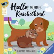 Cover-Bild zu Hallo, kleines Kuschelkind von Grimm, Sandra