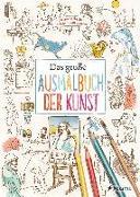 Cover-Bild zu Das große Ausmalbuch der Kunst von Sperber, Annabelle von