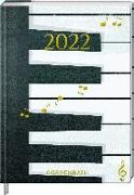 Cover-Bild zu Mein Jahr 2022 - Piano (All about music) von Sander, Gesa (Illustr.)