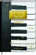 Cover-Bild zu Mein 3 Minuten Tagebuch 2022 - Piano (All about music) von Sander, Gesa (Illustr.)