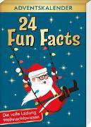 Cover-Bild zu 24 Fun Facts - Die volle Ladung Weihnachtswissen von Lückel, Kristin