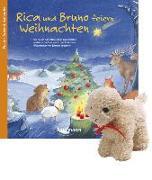 Cover-Bild zu Rica und Bruno feiern Weihnachten mit Stoffschaf von Lückel, Kristin