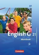 Cover-Bild zu English G 21. Ausgabe A1. Workbook mit CD von Seidl, Jennifer