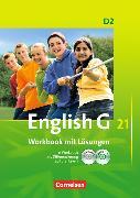 Cover-Bild zu English G 21. Ausgabe D2. Workbook mit Lösungen von Seidl, Jennifer