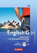Cover-Bild zu English G 21. Ausgabe A5. Worbook mit Kompetenztraining von Seidl, Jennifer