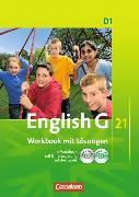 Cover-Bild zu English G 21. Ausgabe D1. Workbook mit CD-ROM (e-Workbook) und CD - Lehrerfassung von Brown, Bernard Gordon