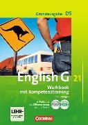 Cover-Bild zu English G 21. Grundausgabe D5. Workbook mit Kompetenztraining. Lehrerfassung von Seidl, Jennifer