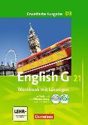 Cover-Bild zu English G 21. Erweiterte Ausgabe D3. Workbook mit CD-ROM (e-Workbook) und CD - Lehrerfassung von Seidl, Jennifer