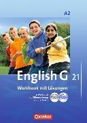 Cover-Bild zu English G 21. Ausgabe A2. Workbook mit Lösungen von Seidl, Jennifer