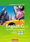 Cover-Bild zu Englisch G 21. Erweiterte Ausgabe D4. Workbook mit Lösungen von Seidl, Jennifer