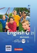 Cover-Bild zu English G 21. Ausgabe A1. Workbook mit CD-ROM (e-Workbook) und CD von Seidl, Jennifer