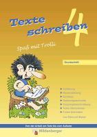 Cover-Bild zu Texte schreiben - Spaß mit Trolli 4, Druckschrift von Wetter, Edmund