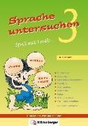 Cover-Bild zu Sprache untersuchen - Spaß mit Trolli 3, Druckschrift von Wetter, Edmund