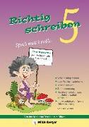 Cover-Bild zu Richtig schreiben - Spaß mit Trolli, 5. Schuljahr, Druckschrift von Wetter, Edmund