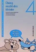 Cover-Bild zu Übung macht den Meister. Rechtschreib-Übungsheft 4. Druckschrift. RSR von Wetter, Edmund
