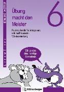 Cover-Bild zu Übung macht den Meister. Rechtschreib-Trainingskurs 6. Druckschrift. RSR 2006 von Wetter, Edmund