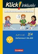 Cover-Bild zu Klick! inklusiv - Grundschule / Förderschule - Mathematik. 3./4. Schuljahr - Zahlenraum bis 100 von Burkhart, Silke