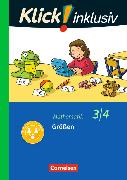 Cover-Bild zu Klick! inklusiv - Grundschule / Förderschule - Mathematik. 3./4. Schuljahr - Größen von Burkhart, Silke