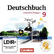 Cover-Bild zu Deutschbuch Gymnasium 9. Schuljahr. Interaktive Übungs-CD-ROM zum Arbeitsbuch. östliche Bundesländer. EL von Bordelais, Nicole