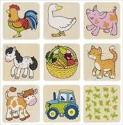Cover-Bild zu Memospiel Bauernhof / 2 Ex.